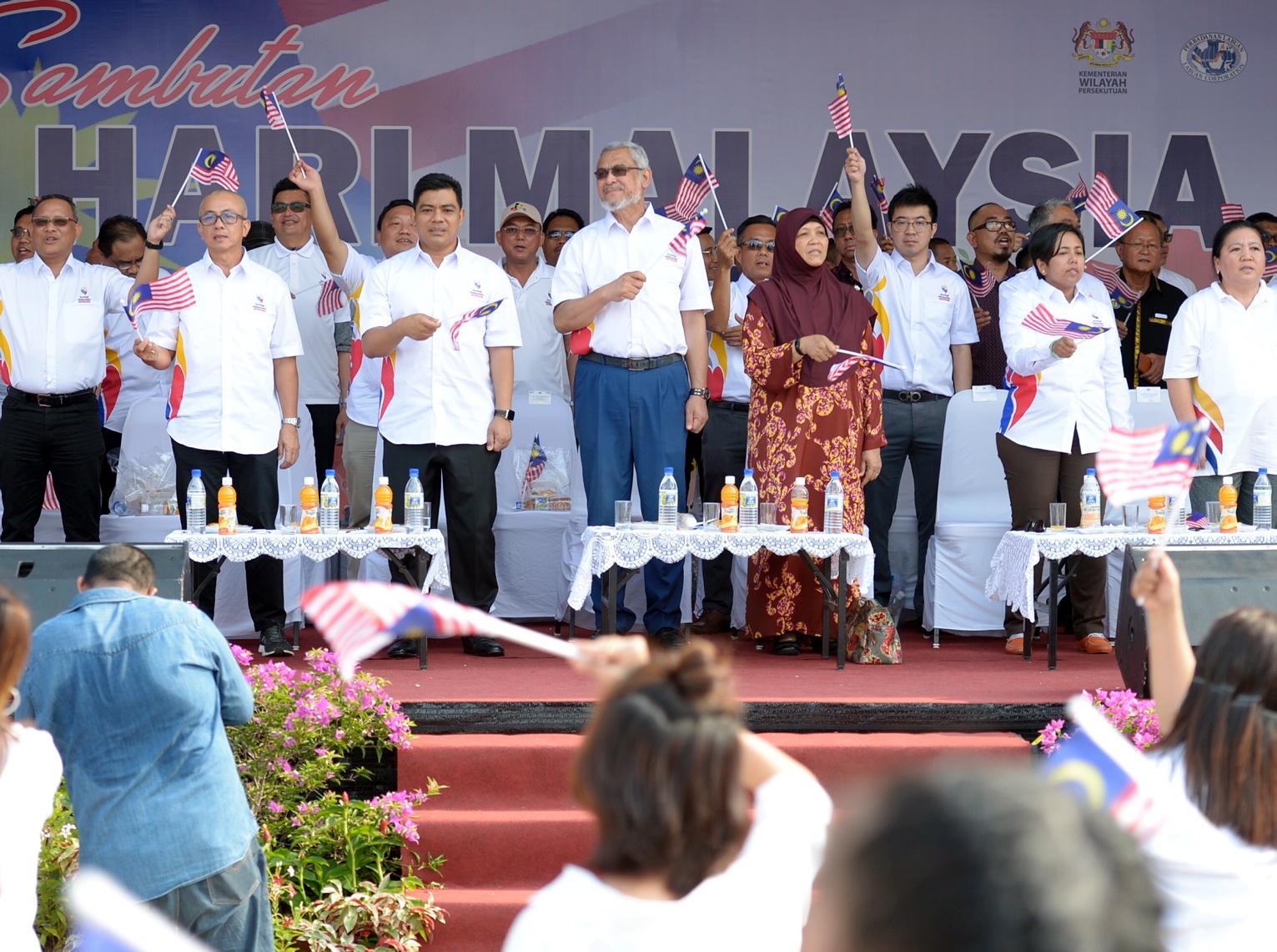 Hari Malaysia wadah suburkan perpaduan masyarakat