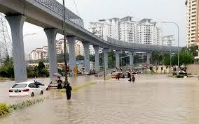 Banjir kilat resahkan warga ibu kota