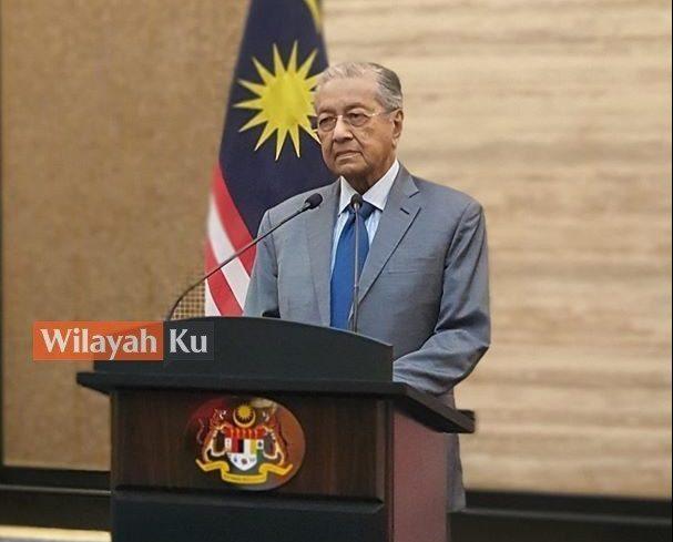 Tun Mahathir syor pemerintahan tidak memihak kepada parti.