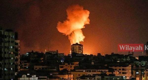 Israel lancar serangan udara ke atas Gaza